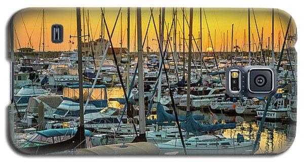 Marina Sunset Galaxy S5 Case by April Reppucci