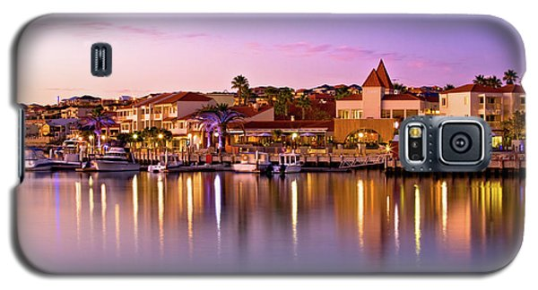 Galaxy S5 Case featuring the photograph Marina Sunset, Mindarie by Dave Catley