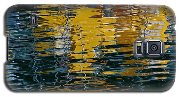 Marina Water Abstract 2 Galaxy S5 Case by Fraida Gutovich
