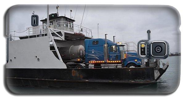 Marine City Mich Car Truck Ferry Galaxy S5 Case