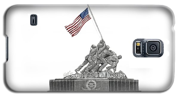 Marine Corps War Memorial - Iwo Jima Galaxy S5 Case