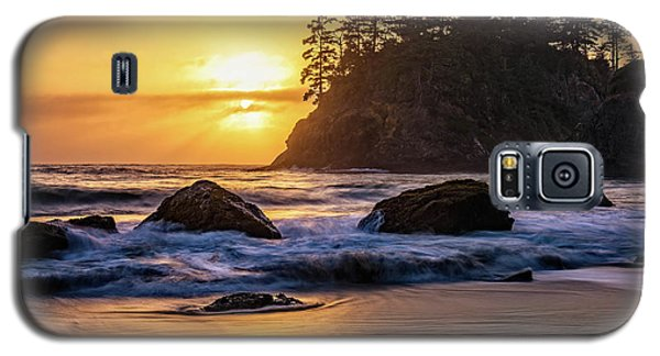 Marine Layer Sunset At Trinidad, California Galaxy S5 Case