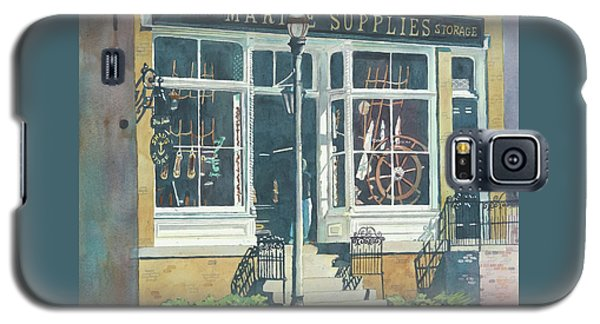 Galaxy S5 Case featuring the painting Marine Supply Store by LeAnne Sowa