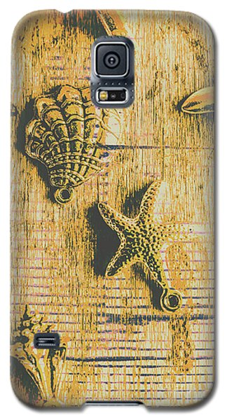 Maritime Sea Scroll Galaxy S5 Case