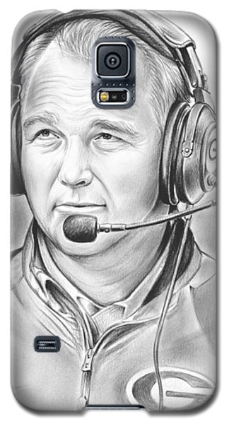 Mark Richt  Galaxy S5 Case by Greg Joens