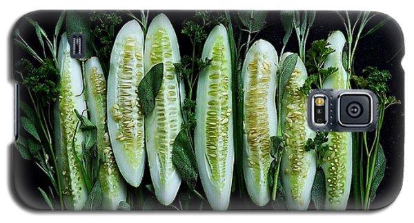 Market Cucumbers Galaxy S5 Case