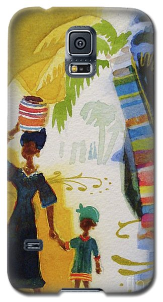 Market Day Galaxy S5 Case by Marilyn Jacobson