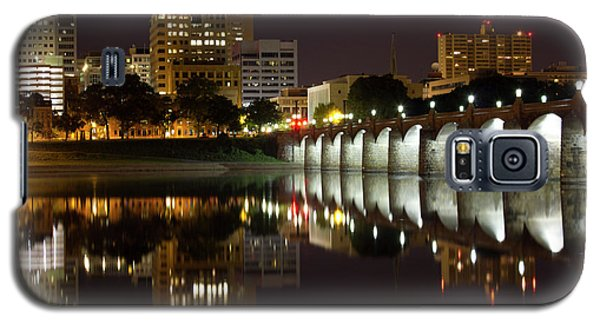 Market Street Bridge Reflections Galaxy S5 Case by Shelley Neff