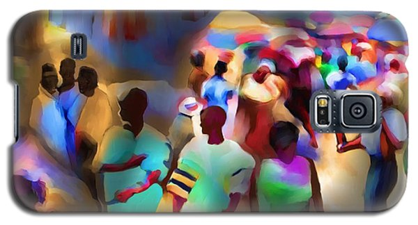 Marketplace At Night Cap Haitien Galaxy S5 Case