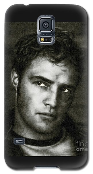 Marlon Brando - Painting Galaxy S5 Case