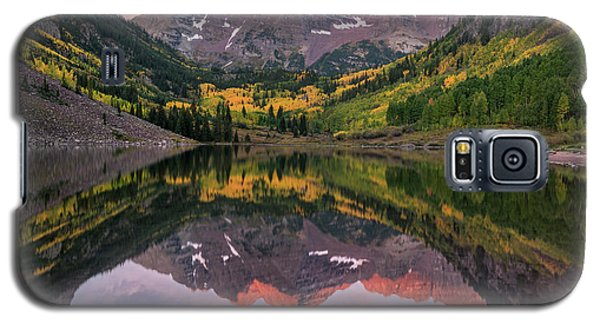 Maroon Bells At Sunrise Galaxy S5 Case