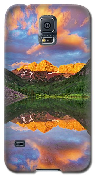 Maroon Bells Galaxy S5 Case