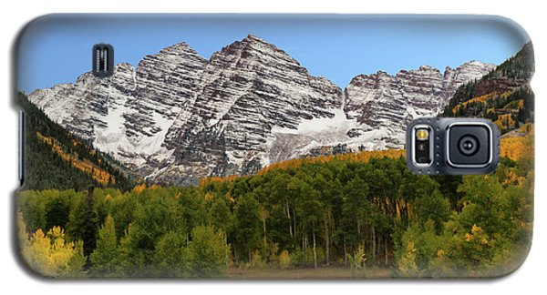 Galaxy S5 Case featuring the photograph Maroon Bells by Dana Sohr