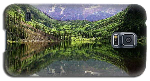Galaxy S5 Case featuring the photograph Maroon Bells  by Jerry Battle