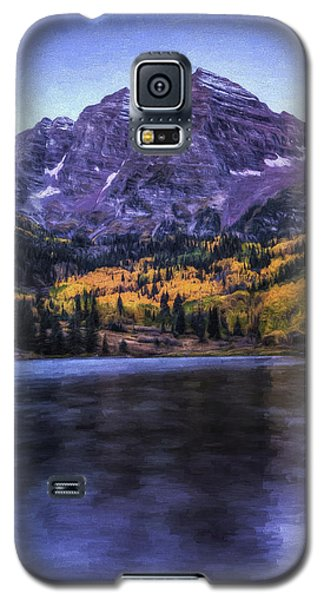 Maroon Bells Galaxy S5 Case