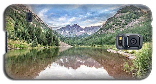 Maroon Bells Near Aspen, Colorado Galaxy S5 Case by Peter Ciro