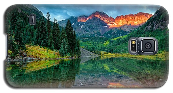 Maroon Bells Sunrise Galaxy S5 Case