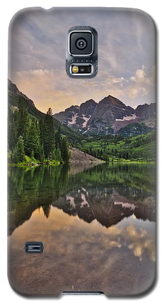 Galaxy S5 Case featuring the photograph Maroon Bells Sunset - Aspen - Colorado by Photography  By Sai