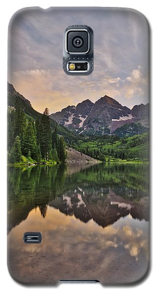Maroon Bells Sunset - Aspen - Colorado Galaxy S5 Case