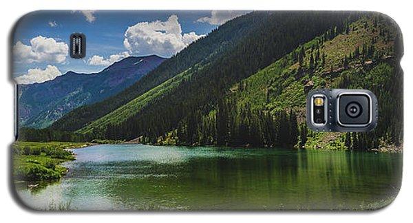 Maroon Lake Panorama Galaxy S5 Case