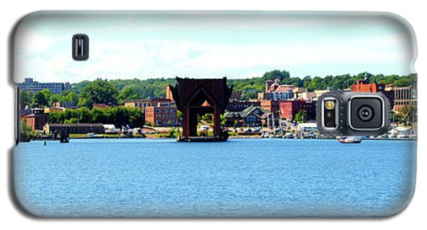 Marquette Michigan Harbor One Galaxy S5 Case by Phil Perkins