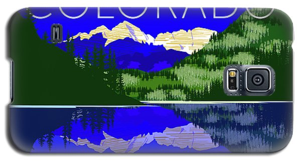 Maroon Bells Day Galaxy S5 Case