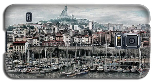 Marseilles France Harbor Galaxy S5 Case by Alan Toepfer