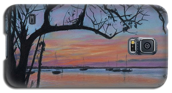 Marsh Harbour At Sunset Galaxy S5 Case