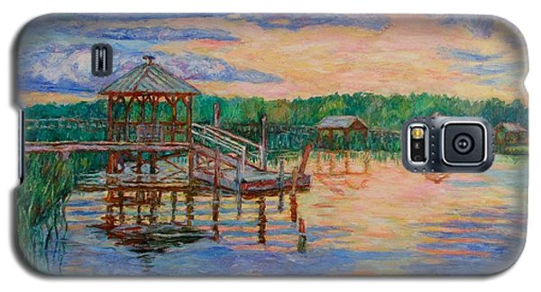Marsh View At Pawleys Island Galaxy S5 Case by Kendall Kessler