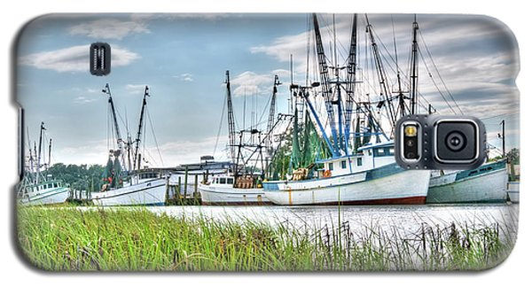 Marsh View Shrimp Boats Galaxy S5 Case