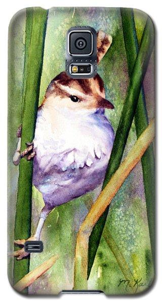 Silver Creek Marsh Wren Galaxy S5 Case