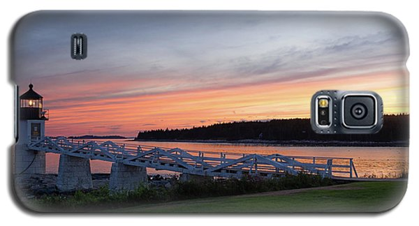 Galaxy S5 Case featuring the photograph Marshall Point Lighthouse, Port Clyde, Maine -87444 by John Bald