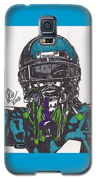 Marshawn Lynch 1 Galaxy S5 Case by Jeremiah Colley