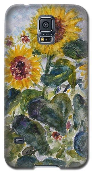 Martha's Sunflowers Galaxy S5 Case