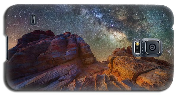Galaxy S5 Case featuring the photograph Martian Landscape by Darren White