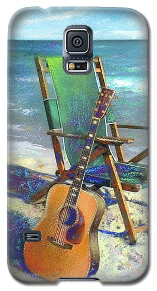 Martin Goes To The Beach Galaxy S5 Case