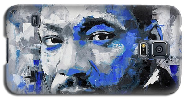 Galaxy S5 Case featuring the painting Martin Luther King Jr by Richard Day