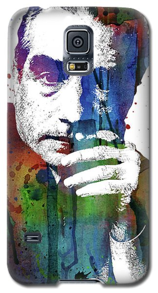 Martin Scorsese Galaxy S5 Case by Mihaela Pater
