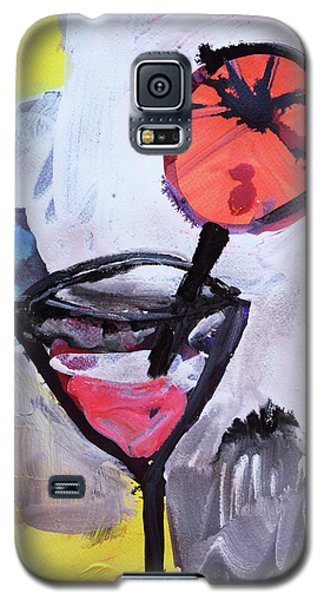Martini And Orange Galaxy S5 Case