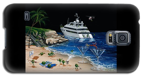 Helicopter Galaxy S5 Case - Martini Cove La Jolla by Michael Godard
