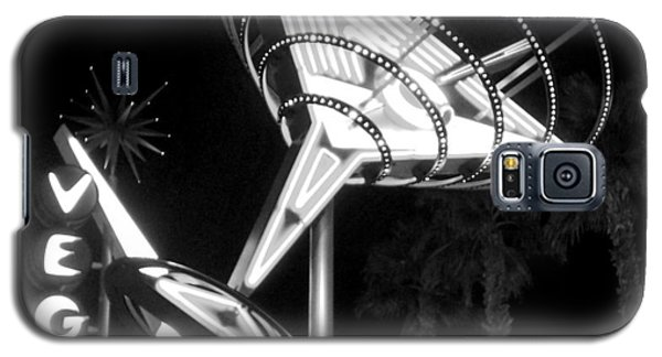 Martini Sign In Vegas B-w Galaxy S5 Case