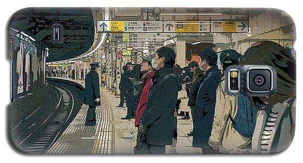 Marunouchi Line, Tokyo Metro Japan Poster 2 Galaxy S5 Case
