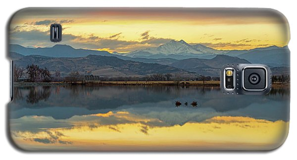 Galaxy S5 Case featuring the photograph Marvelous Mccall Lake Reflections by James BO Insogna