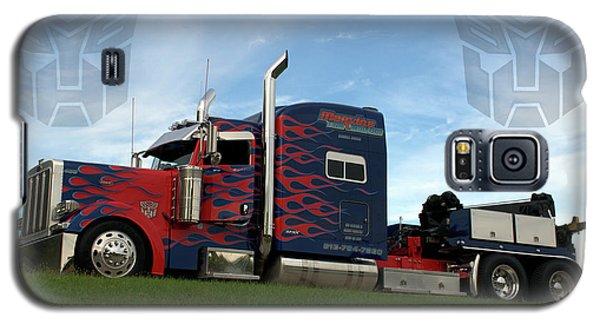 Transformers Optimus Prime Tow Truck Galaxy S5 Case