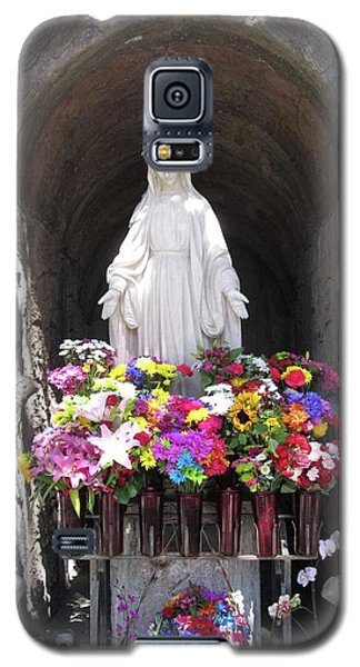 Mary At The Mission Galaxy S5 Case by Mary Ellen Frazee