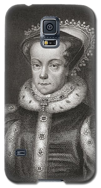 Mary I, 1516 Galaxy S5 Case by Vintage Design Pics