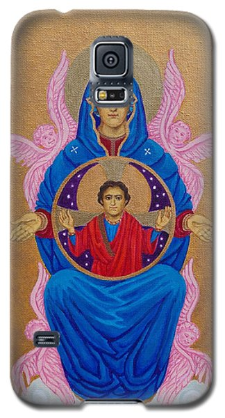 Mary Mother Of Mercy Icon - Jubilee Year Of Mercy Galaxy S5 Case