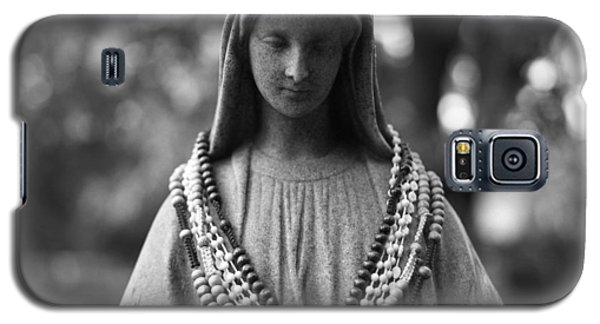 Mary With Rosaries Galaxy S5 Case