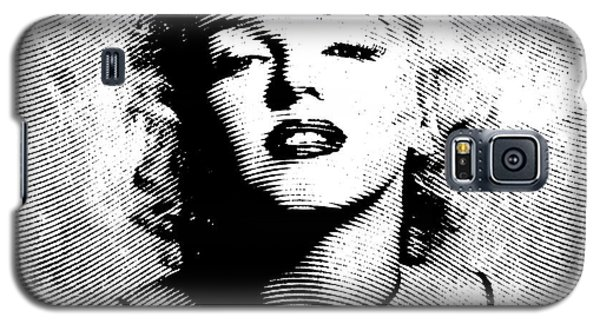 Marilyn Monroe - 04a Galaxy S5 Case by Variance Collections