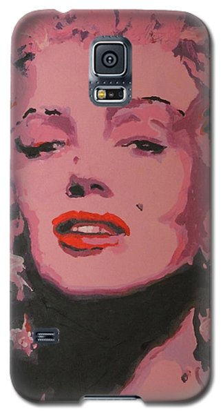 Marylin Monroe Galaxy S5 Case by Eric Dee